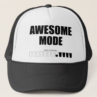 Awesome Mode Loading Trucker Hat