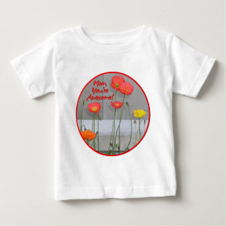 Awesome Mom Baby T-Shirt