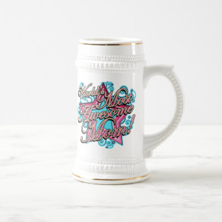 Awesome Mom Beer Stein