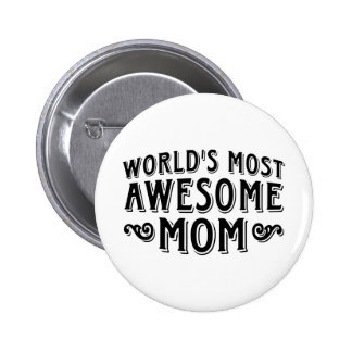 Awesome Mom Button
