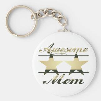 Awesome Mom Key Chains