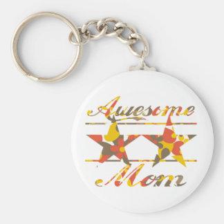 Awesome Mom Key Chain