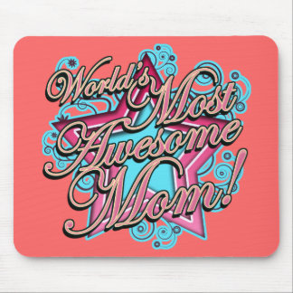 Awesome Mom Mouse Pad