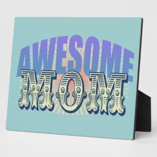 Awesome Mom Plaque