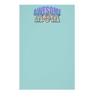 Awesome Mom Stationery