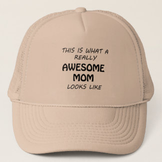Awesome Mom Trucker Hat