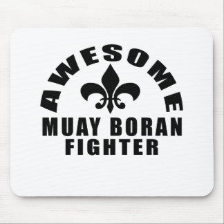 AWESOME MUAY BORAN FIGHTER MOUSE PAD