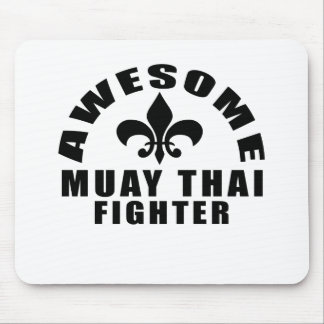 AWESOME MUAY THAI FIGHTER MOUSE PAD