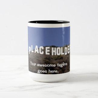 Awesome mug with image and text