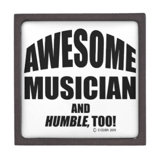 Awesome Musician Premium Gift Boxes
