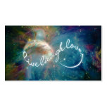 "Awesome mystic ""Live Laugh Love"" infinity symbol Business Card"