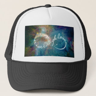 """Awesome mystic """"Live Laugh Love"""" infinity symbol Trucker Hat"""