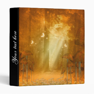 Awesome mystical forest binder