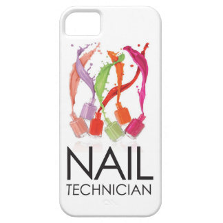 Awesome 'Nail Technician' Color Splash (iPhone 5) iPhone SE/5/5s Case