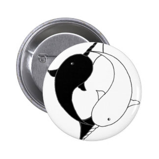 Awesome Narwhals Pinback Button