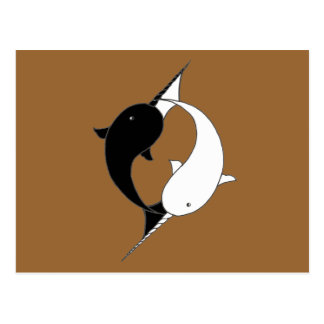 Awesome Narwhals Postcard