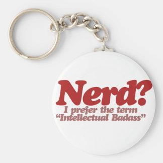 Awesome Nerd Humor Keychain