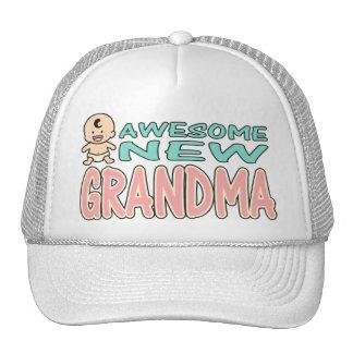 Awesome New Grandma Trucker Hat