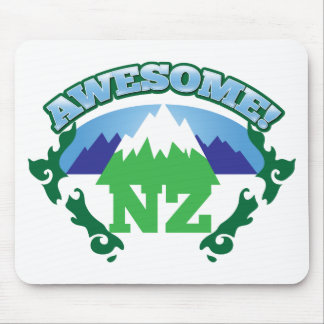 Awesome NEW ZEALAND! with mountains Mouse Pad