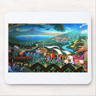 Awesome Nicaraqua Painting Master Artist Mouse Pad
