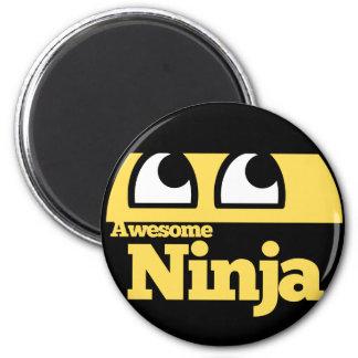 Awesome Ninja Refrigerator Magnets