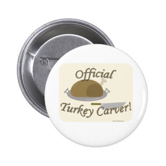 Awesome Official Turkey Carver Button