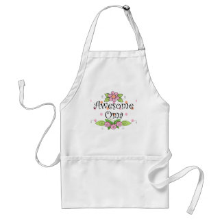 Awesome Oma T-Shirt Adult Apron