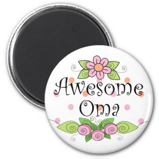 Awesome Oma T-Shirt Magnet