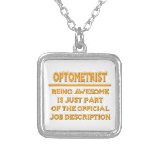 Awesome Optometrist .. Job Description Pendant