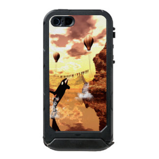 Awesome orca waterproof iPhone SE/5/5s case