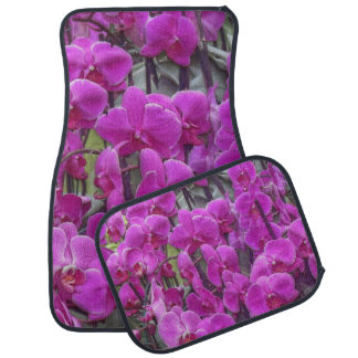 awesome orchids pink car floor mat