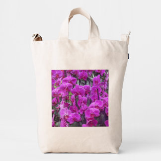 awesome orchids pink duck bag