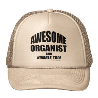 Awesome Organist Trucker Hats