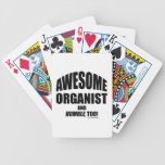 Awesome Organist Poker Cards