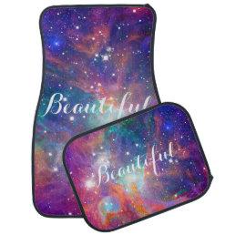 "Awesome Orion nebula shining stars ""Beautiful"" Car Floor Mat"