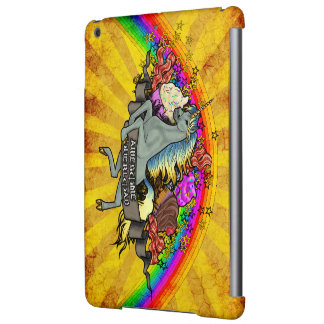 Awesome Overload Unicorn, Rainbow & Bacon iPad Air Cases