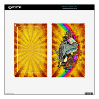 Awesome Overload Unicorn, Rainbow & Bacon Kindle Fire Decals