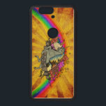 """Awesome Overload Unicorn, Rainbow &amp; Bacon Maple Wood Nexus 6P Case<br><div class=""""desc"""">Awesome Overload design redeux to look absolutely smashing on your pick of natural hardwood cell phone cases. Unicorn,  bacon,  rainbow and cupcakes - - who could ask for anything more?</div>"""