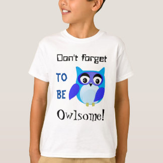 Awesome owl cartoon T-Shirt