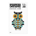 Awesome Owl Postage Stamp