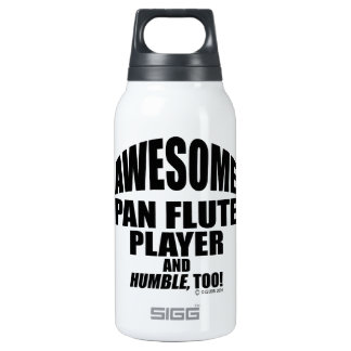 Awesome Pan Flute Player 10 Oz Insulated SIGG Thermos Water Bottle
