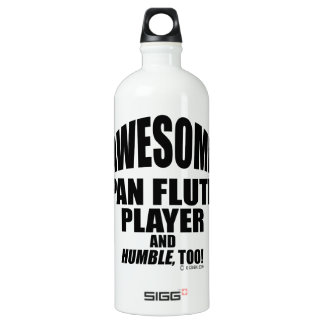 Awesome Pan Flute Player SIGG Traveler 1.0L Water Bottle