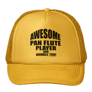 Awesome Pan Flute Player Trucker Hat