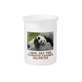 awesome Panda designs Beverage Pitchers