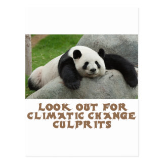 awesome Panda designs Postcard
