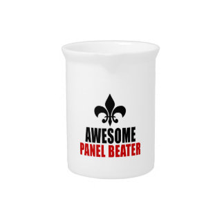 AWESOME PANEL BEATER DRINK PITCHERS