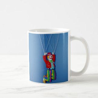 Awesome Parachuting Clown Coffee Mug