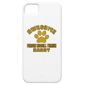 AWESOME PARSON RUSSELL TERRIER DADDY iPhone SE/5/5s CASE