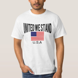 Awesome Patriotic united we stand T-Shirt