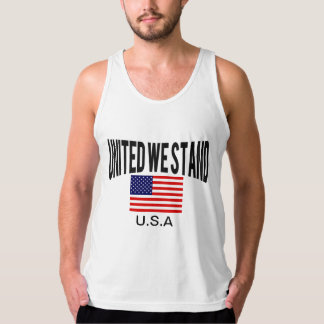 Awesome Patriotic united we stand Tank Top